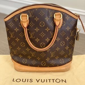 Authentic LOUIS VUITTON Lockit Bag